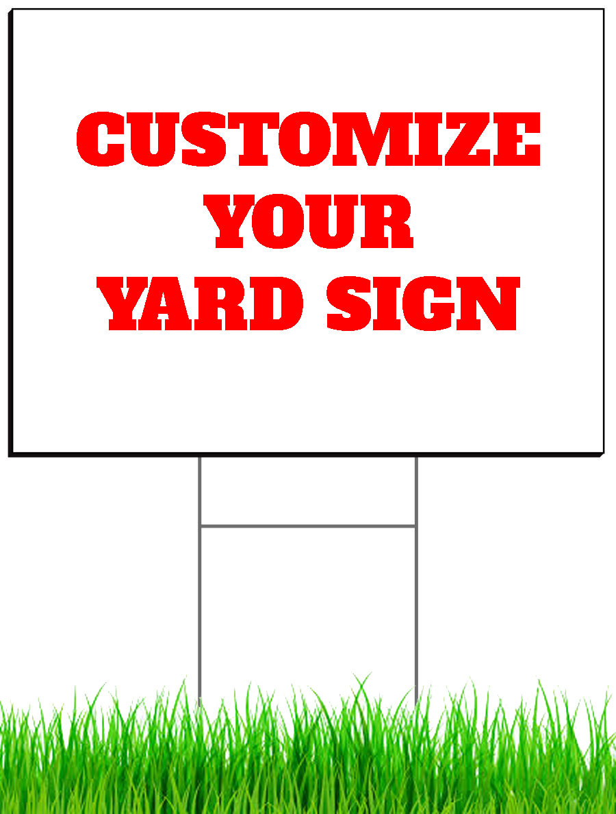 yard sign stuart printing