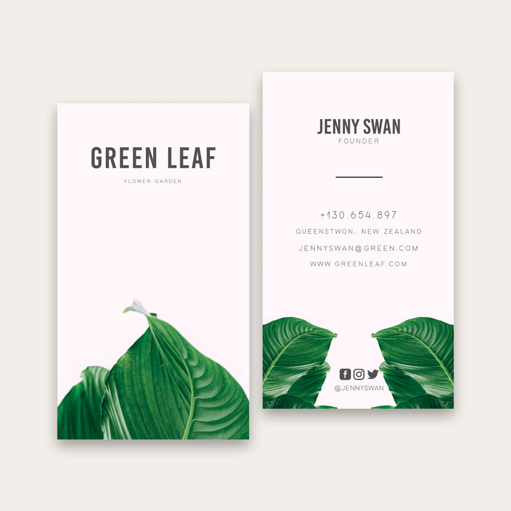 Full Color Glossy Business Cards